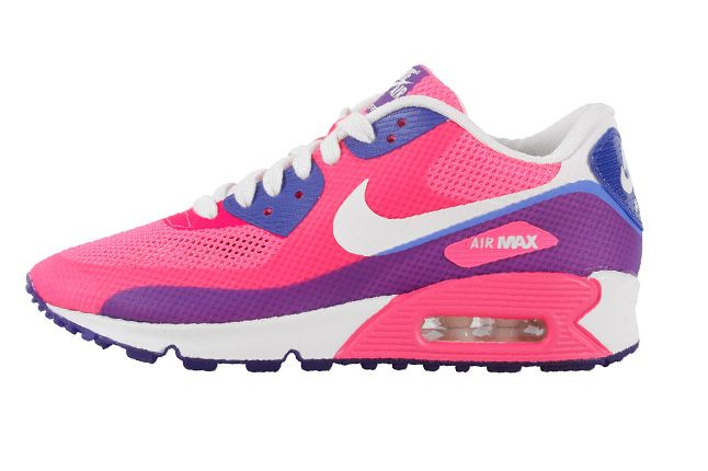 Nike Air Max 90 Premium Hyperfuse 2013 Pink Side Profile 1