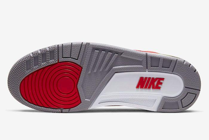 Air Jordan 3 Nike Chi Sole