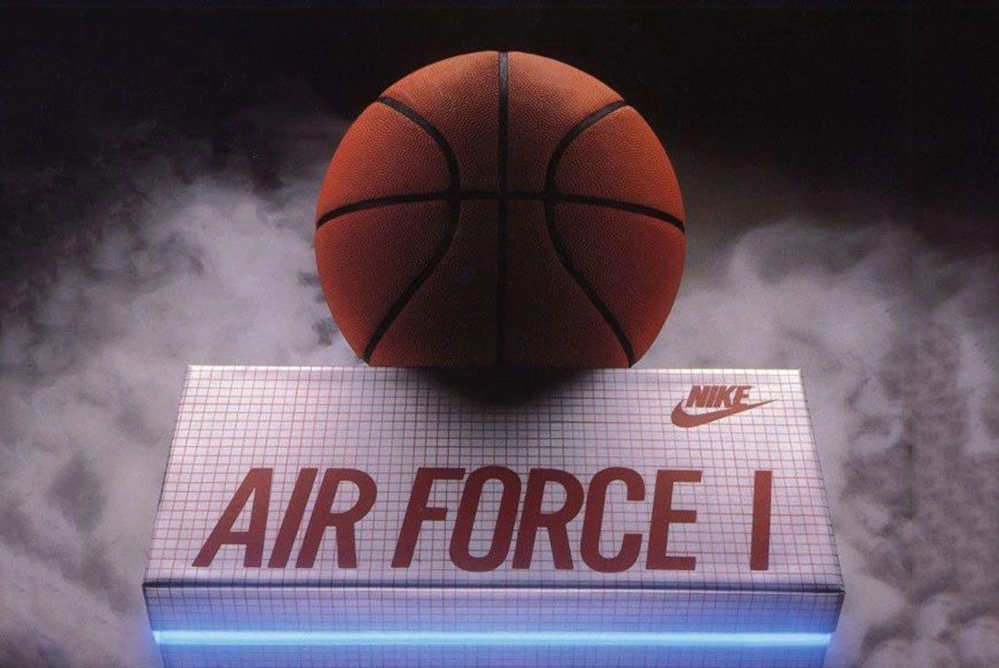 Nike Air Force 1 Vintage Ad