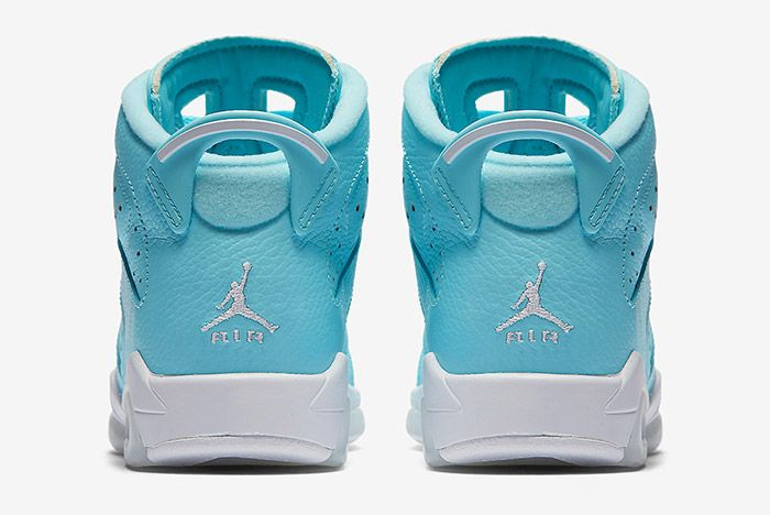 Air Jordan 6 Pantone Blue Gs 2