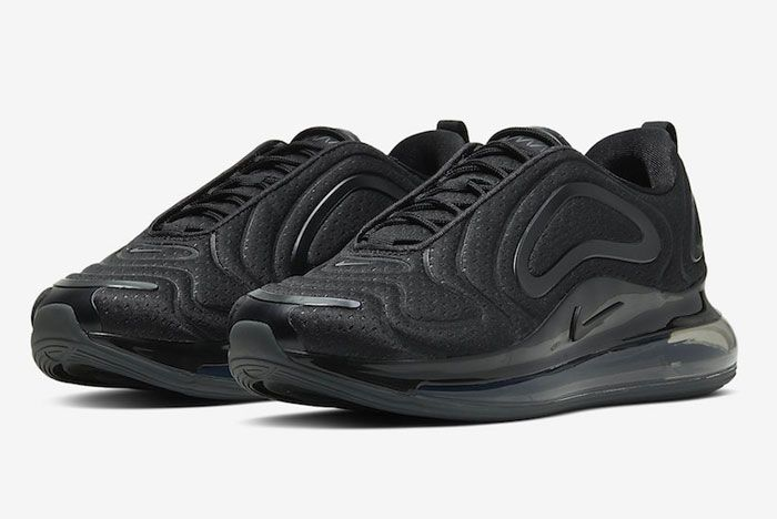 Nike Air Max 720 Black Mesh Toe