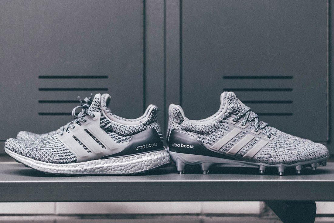 Adidas Ultraboost Silver Pack Cleat 1