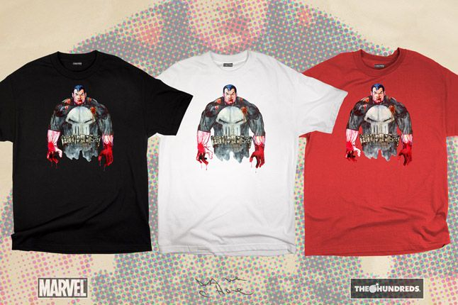 The Hundreds X Punisher Dave Choe Collection 2012 1