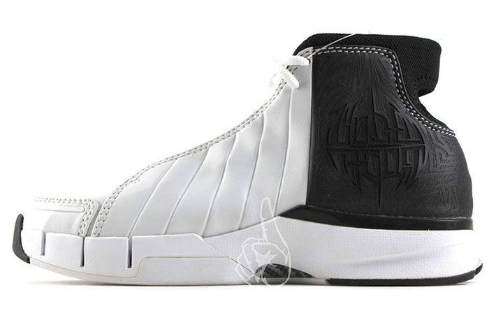 Nike Kobe 1 Prototype 2005 White Black Carbon Fiber 2