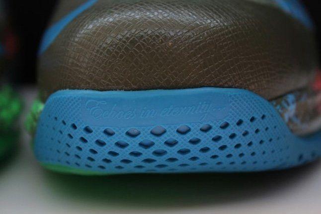 Nike Lebron X Low Tarp Green 5