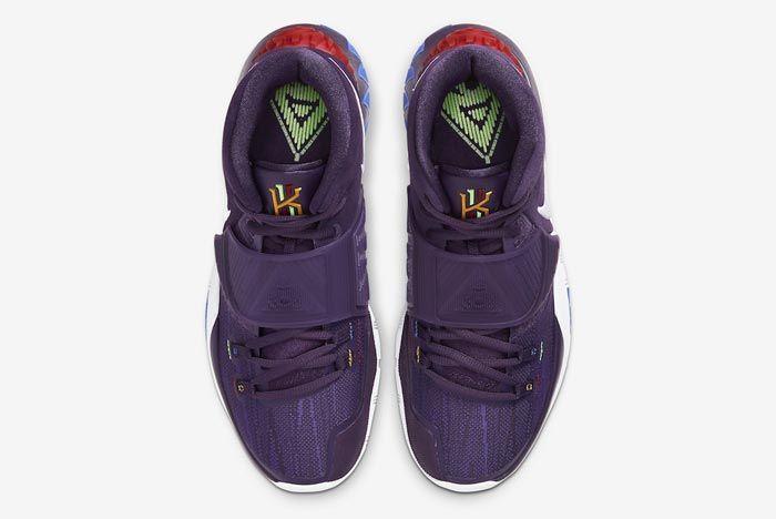 Nike Kyrie 6 Grand Purple Top