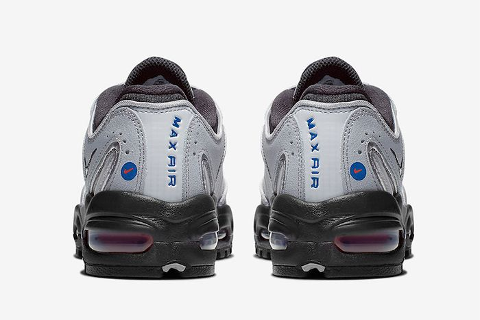 Nike Air Max Tailwind 4 Grey Ck0700 001 Heel Shot