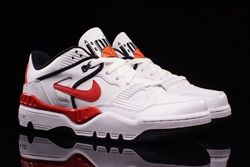 Nike Air Force 3 Low White Varred Bumper Thumb