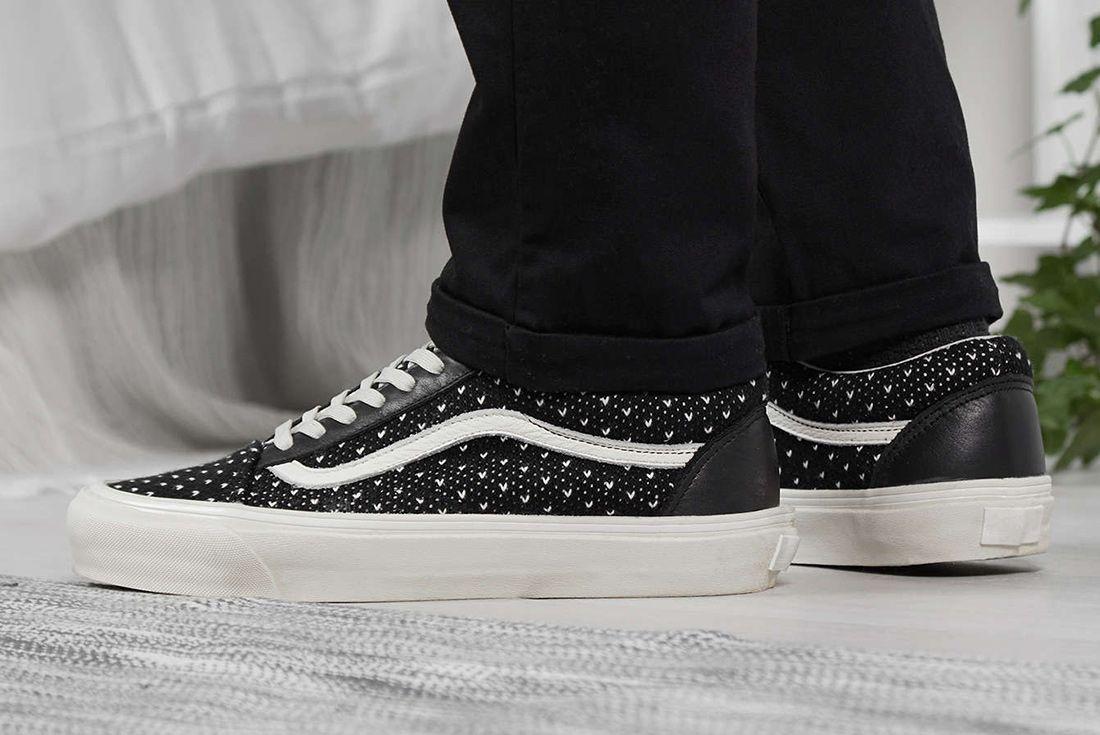 End X Vans Old Skool Winter Wool Sneaker Freaker 6