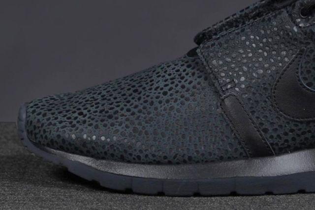 Nike Roshe Run Safari Triple Black 41