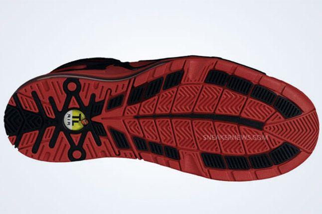 Nike Air Max Pillar Black Sport Red Outsole 1