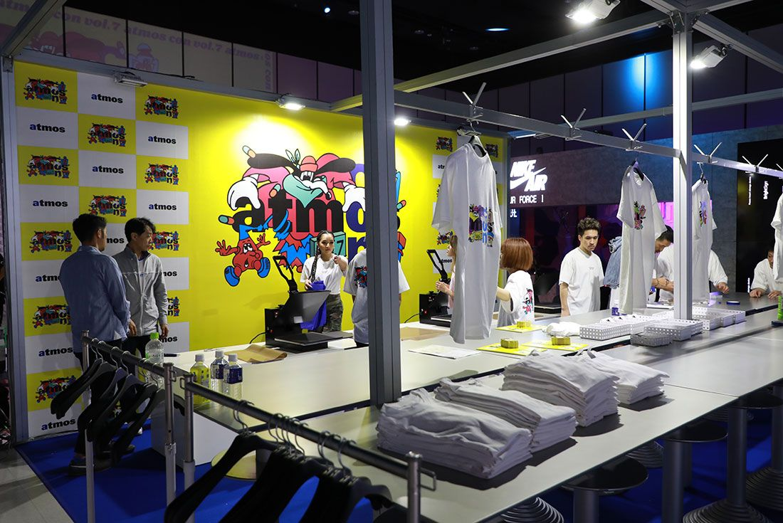 Atmos Con Tokyo 2019 Koji Sneaker Freaker Floor Shot25