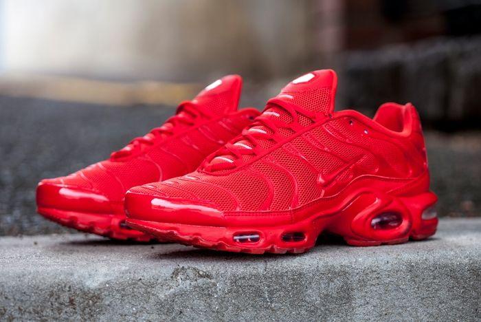 Nike Airmax Plus Lava Red 3