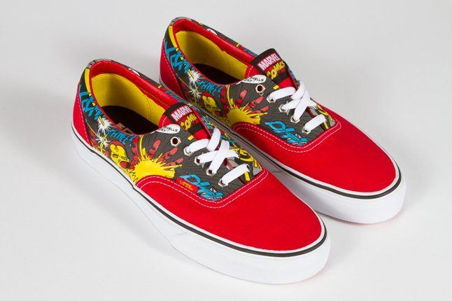 Vans Marvel Era Low Iron Man 1