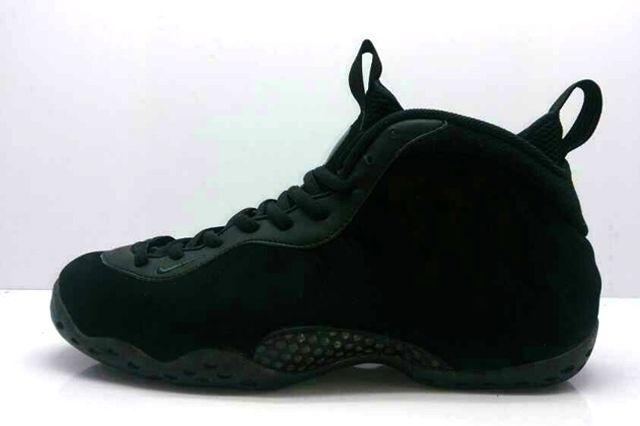 Nike Air Foamposite One Black Suede 02