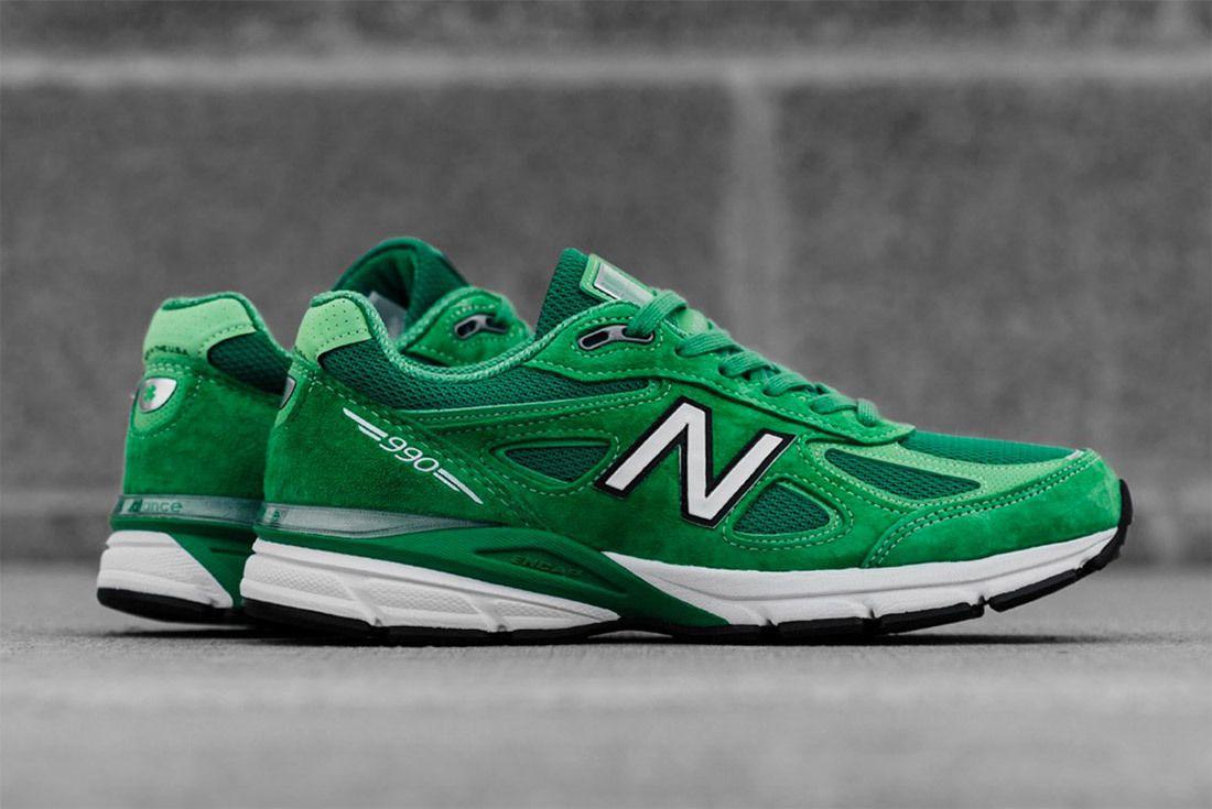 New Balance 990 V4 Green 4