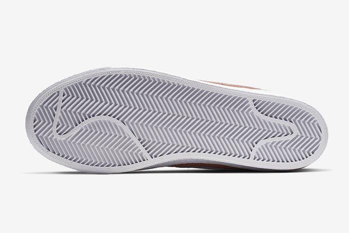 Nike Sb Blazer Dusty Peach Outsole