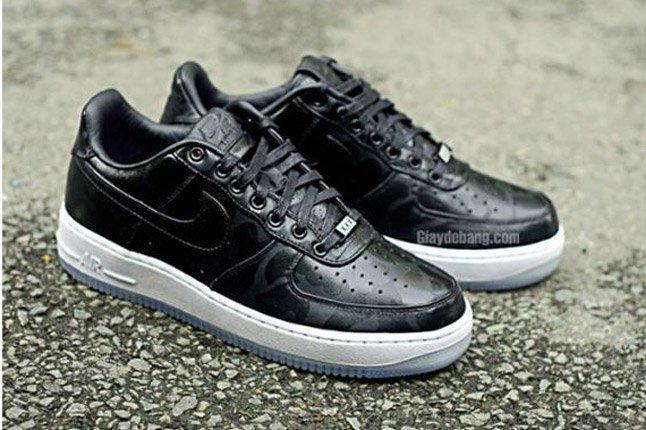 Nike Air Force One 1 Supreme Black On Black Camo 1