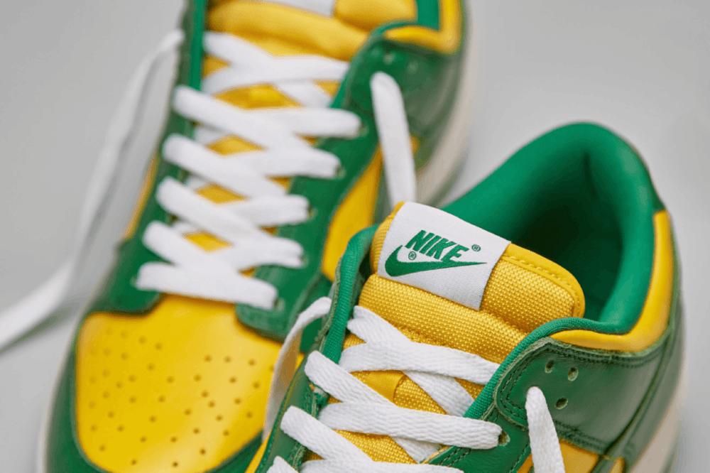 Nike Dunk Low Brazil Tongue