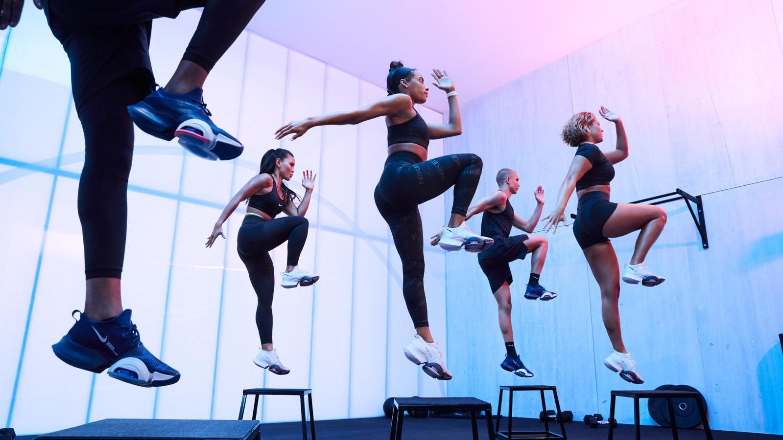 Nike Air Zoom SuperRep promo shot