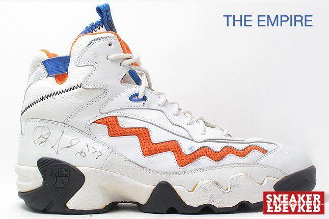 Ewing Sneakers The Empire White Orange 1