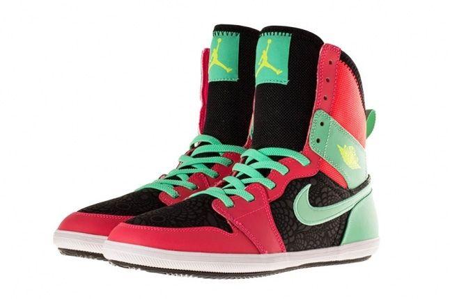 Air Jordan 1 Skinny High Atomic Red 3