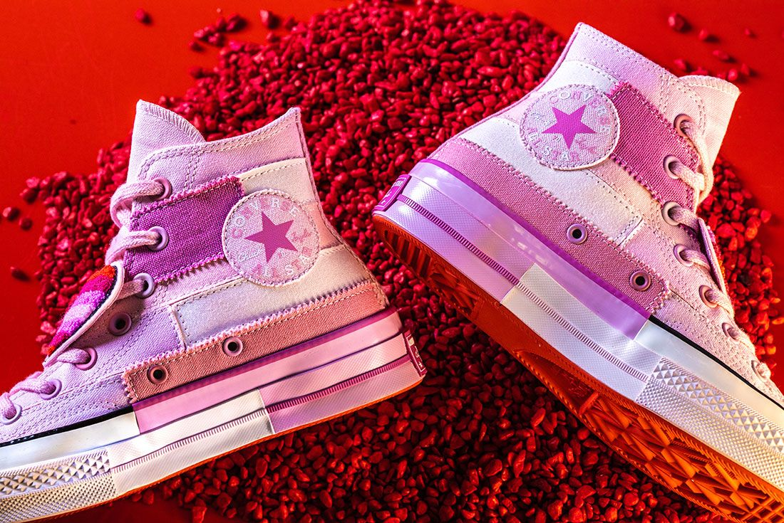 Converse X Millie Bobby Brown Collection Sneaker Freaker Pink Chuck 702
