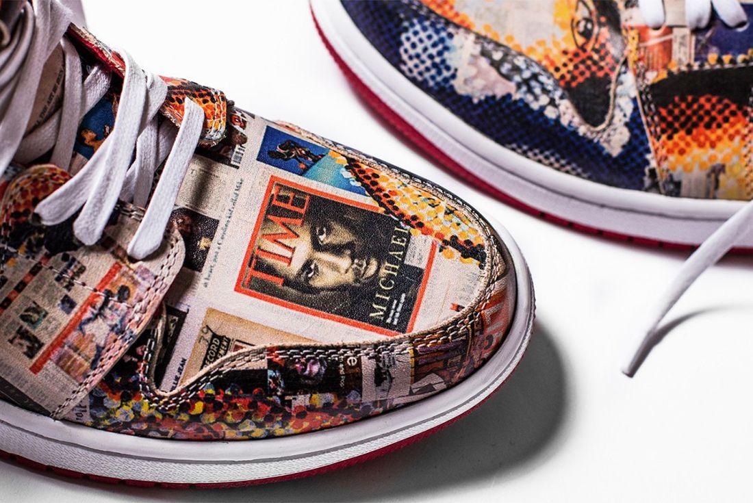 The Shoe Surgeons Latest Custom Turns Jordans Into Art