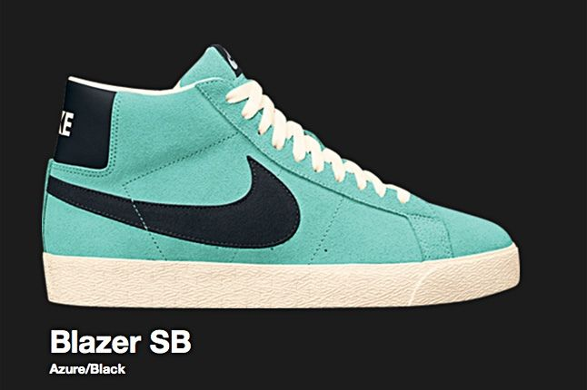 Nike Blazer Sb Azure 2008 2