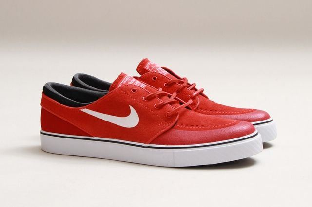 Nike Sb Stefan Janoski Lt Crimson Gym Red 2