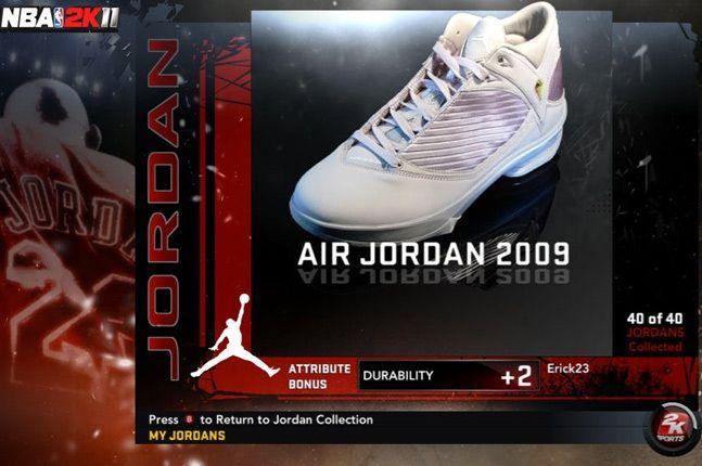 Jordan Nba 2K11 2009 1