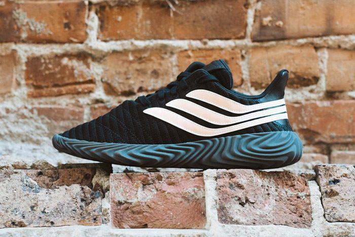 Adidas Sobakov Core Black Chalk Coral 1