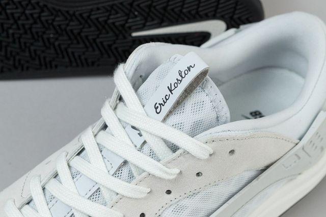 Nike Sb Eric Koston Huarache Shoes Summit White Pure Platinum Black 6