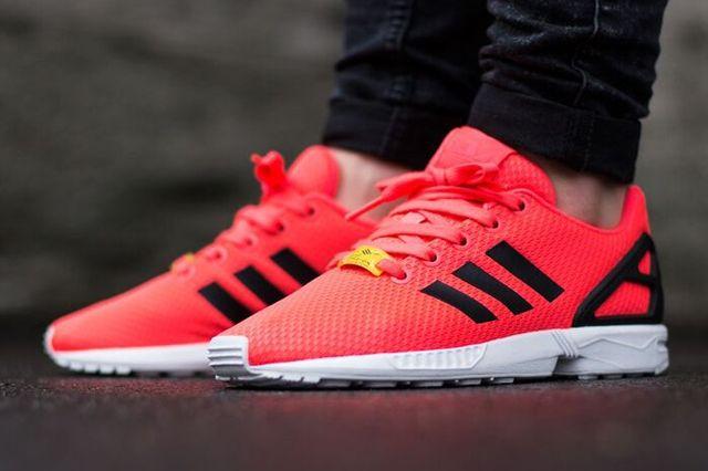 Adidas Originals Zx Flux Flame Red 1