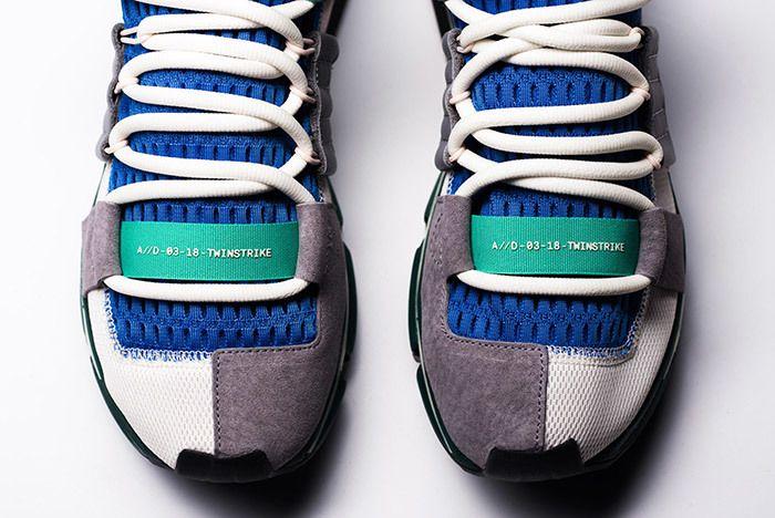 Adidas Twinstrike Atlantis Blue Green Small