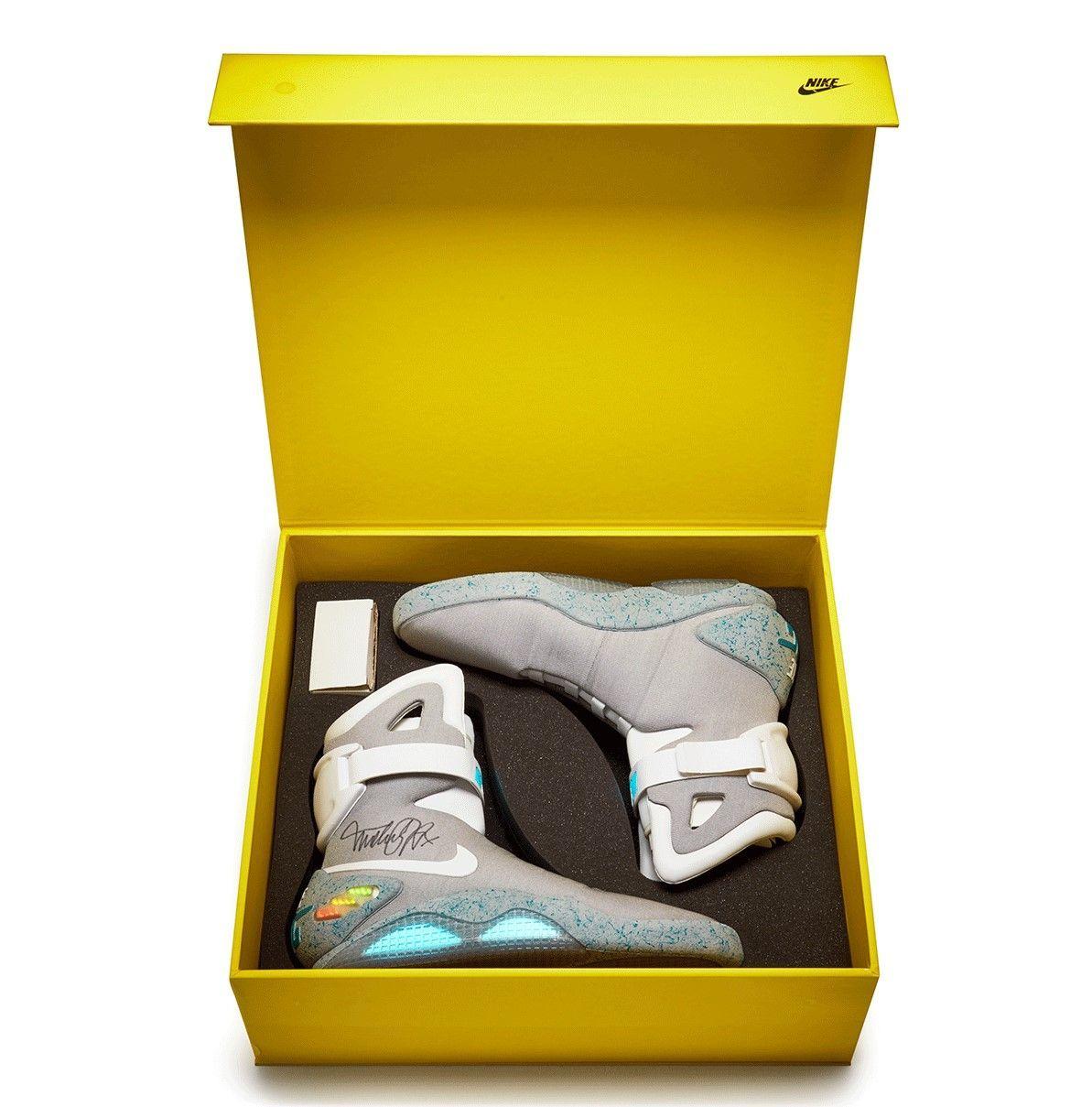 Nike Mag Signed Michael J. Fox