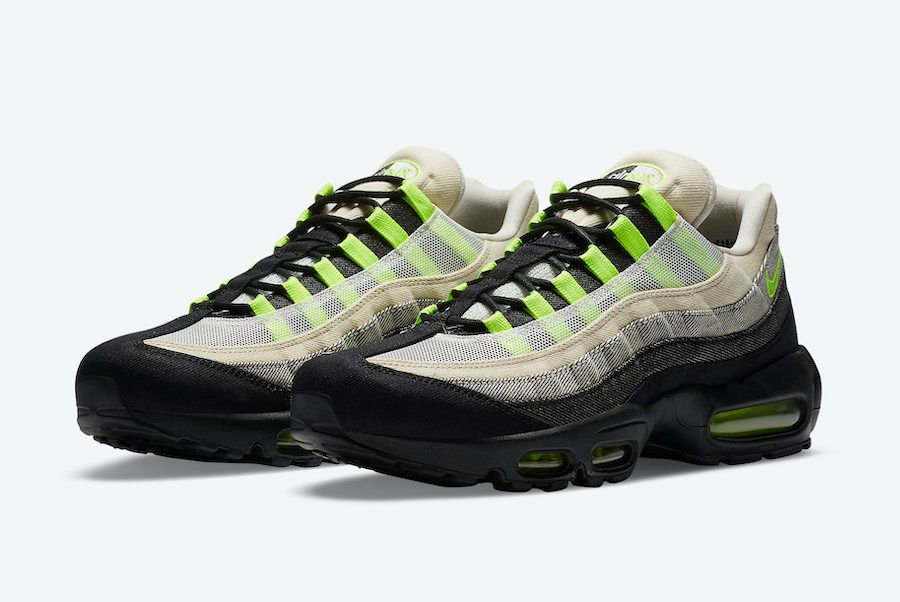 Denham Nike Air Max 95 Volt Angled