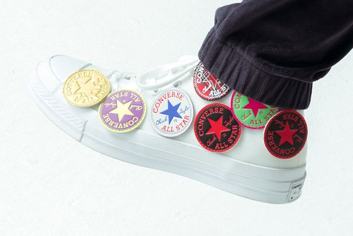 Size Converse Chuck 70 Patches Side