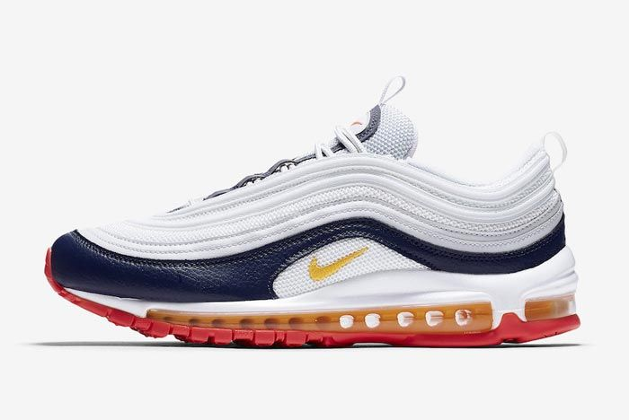 Nike Air Max 97 Laser Orange Lateral