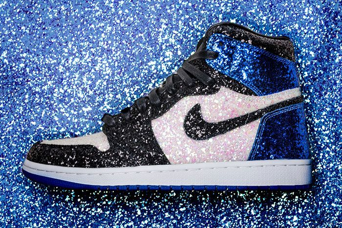 Shoe Surgeon Air Jordan 1 Fragment Crystal Paris1 Side