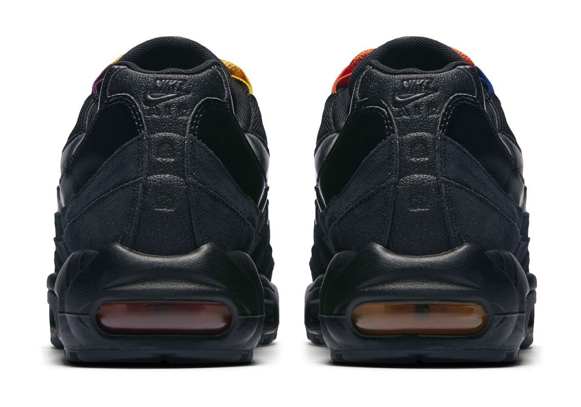 Nike Air Max 95 LA vs NYC Heel