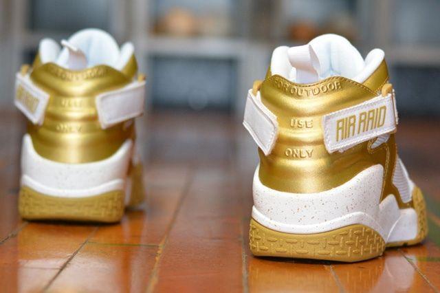 Nike Air Raid Gold Bump 2