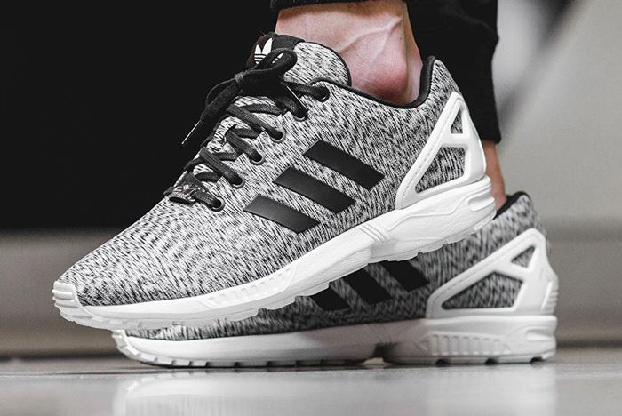 Adidas Zx Flux White Static Print 5