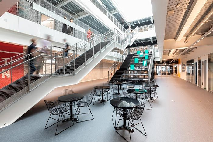 Adidas Hq Arena Stairs And Tables