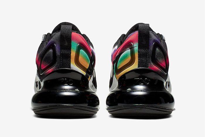 Nike Air Max 720 Multi Colour Heel