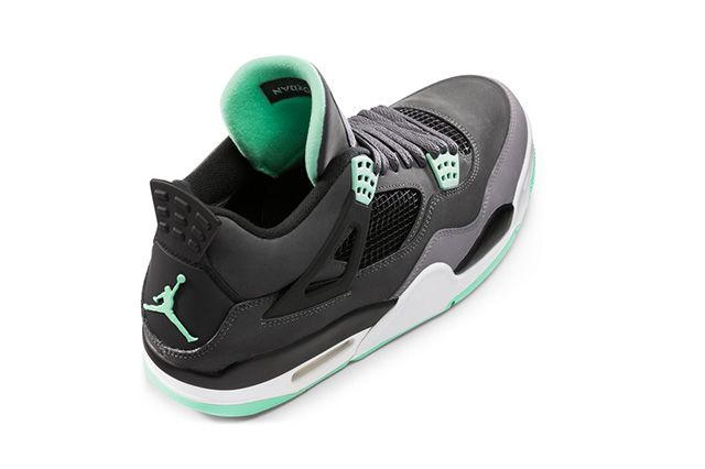 Air Jordan 4 Green Glow 2