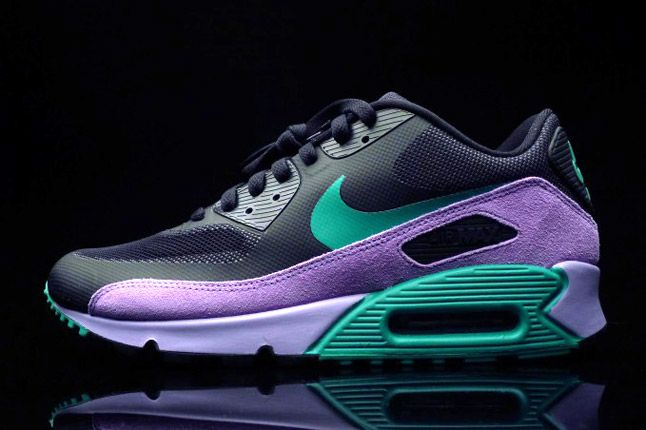 Nike Air Max 90 Premium Black Grape Profile Teal 1