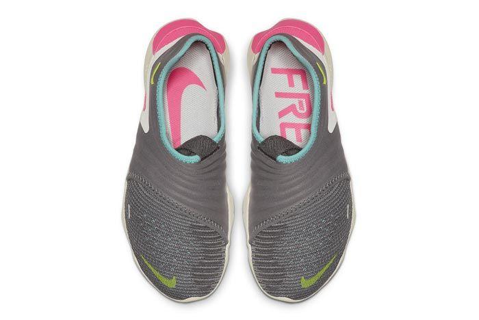 Nike Free Run Flyknit 3 Grey Top
