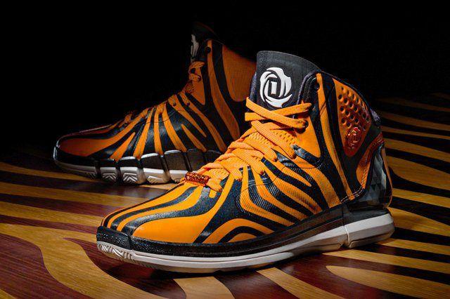 Adidas D Rose 4 5 Tiger