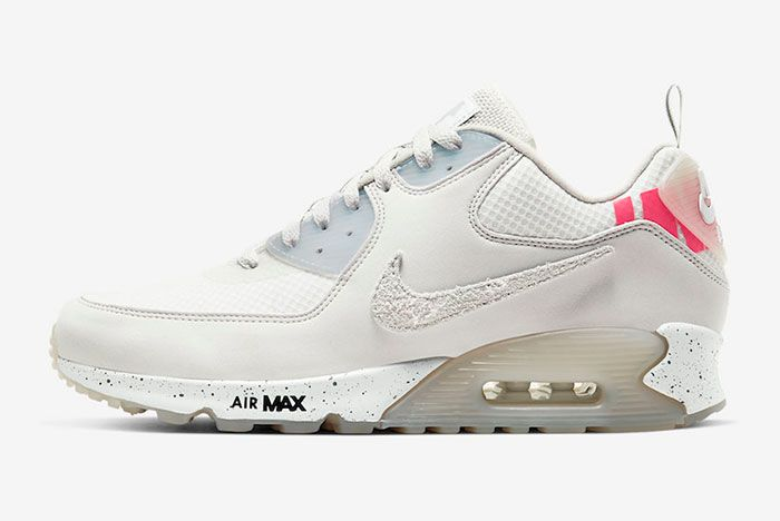 Undefeated Nike Air Max 90 Platinum Tint Cq2289 001 Release Date 1 Official